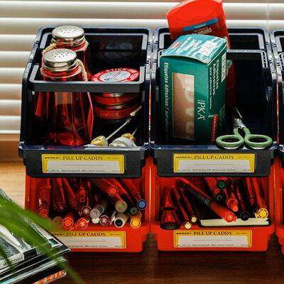 文房具や趣味のパーツの収納に!好きな色を組み合わせられるPENCOのパイルアップキャディ
