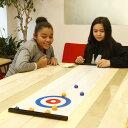Kikkerland キッカーランド Table Top Curling Game テーブルトップカーリングゲーム