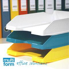 重ねて便利なレタートレーで書類を整理レタートレー multiform [HD183] 【アウトレット】【30%...