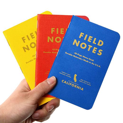 FIELD NOTES フィールドノート メモブック COUNTY FAIR 3-PACKS [FB004]
