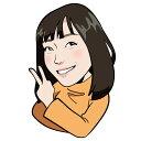 似顔絵データ販売/SNS用似顔絵/似顔絵プレゼント/名刺用似顔絵/WEB/アイコン/LINE/看板/イラストレータ...
