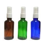 スプレーボトル ガラス 50ml 3本 遮光瓶