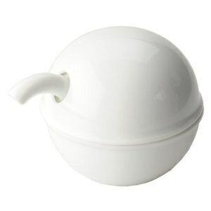 Hakusan porcelain HAKUSAN C type soy sauce pot porcelain kitchenware, tableware, Cookware utensils and Stocker, condiment containers seasoning sauce-source feed