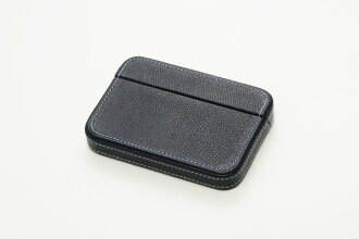 ITOYA as a prime COLOR CHART box type card case, Navy Blue bags, accessories & brand goods fashion and accessory cards put leather (leather)-other