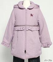 リシェス コート 80cm ピンク...