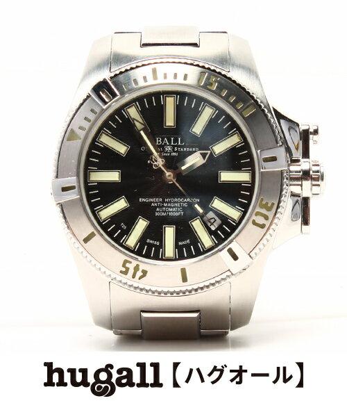 ボール エンジニア ハイドロカーボン 自動巻き DM1016A 腕時計 BALL メンズ 【中古】:ハグオール【BOOKOFF Group】
