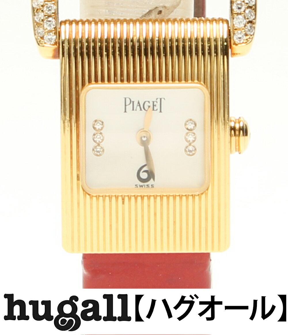 ピアジェ ミスプロトコール 5222 18K ダイヤ クォーツ 腕時計 PIAGET レディース 【中古】:ハグオール【BOOKOFF Group】