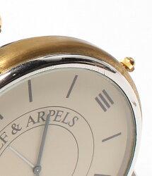 ヴァンクリーフアンドアーペルクォーツベージュ文字盤置き時計VANCLEEF&ARPELSメンズ【】
