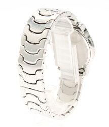 ブルガリソロテンポST35SSSクォーツホワイト文字盤腕時計Bvlgariレディース【】
