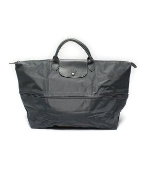 Longchamp大手提包折疊式的LONGCHAMP男女兩用[中古]