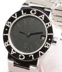 ブルガリブルガリブルガリ腕時計BB23SSクォーツブラックBvlgariレディース【】
