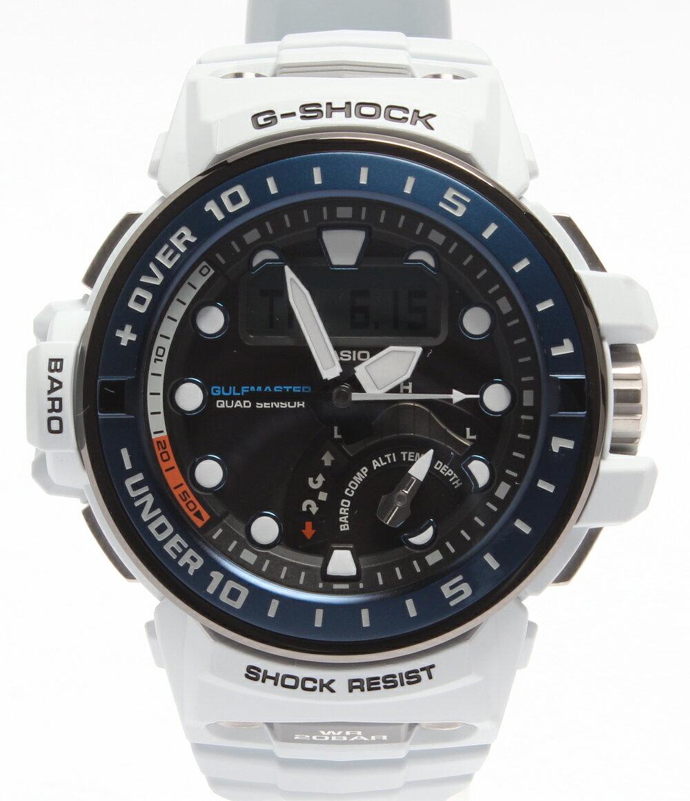 カシオ SS GWN-Q1000 ソーラー G-SHOCK ガルフマスター 腕時計 CASIO メンズ【中古】:ハグオール【BOOKOFF Group】