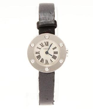カルティエ 腕時計 ラブウォッチ WE800231 クォーツ、6Pダイヤ Cartier レディース 【中古】