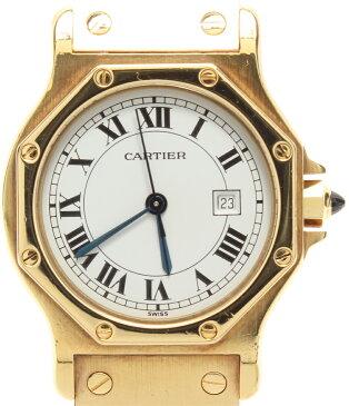 カルティエ 腕時計 サントスオクタゴン 自動巻き Cartier ユニセックス 【中古】