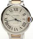 【中古】カルティエ 腕時計 バロンブルーLM W69009Z3 自動巻き Cartier メンズ