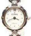 シーマ 腕時計 634Y 手動巻き ホワイト CYMA レディース 【中古】