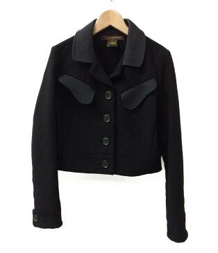 【中古】ルイヴィトン カシミヤ混ウール ショートジャケット レディース SIZE 38 (M) Louis Vuitton