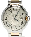 【中古】カルティエ 腕時計 バロンブルー 自動巻き W69009Z3 メンズ Cartier