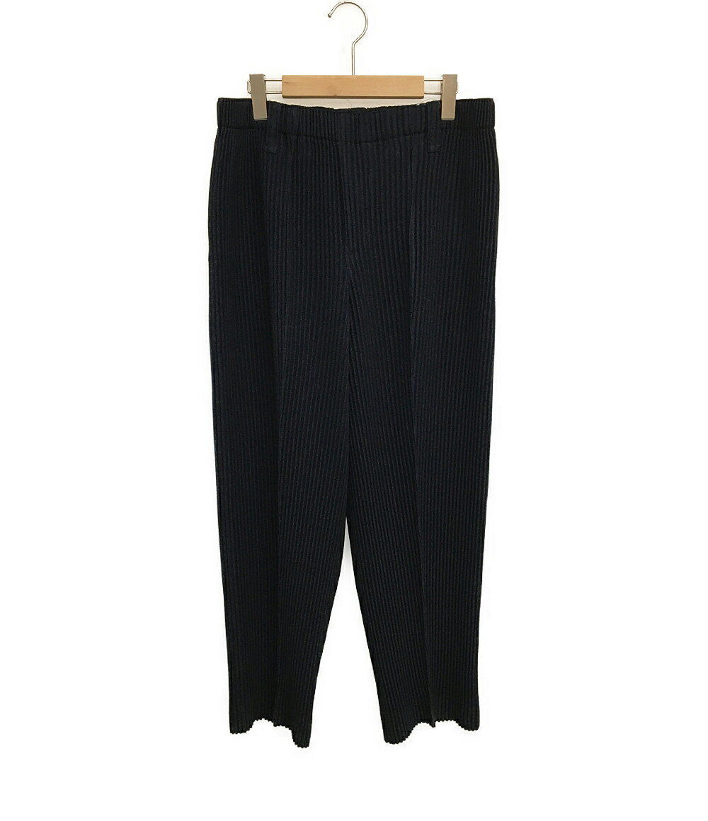 メンズファッション, ズボン・パンツ  WOOL LIKE LIGHT 19AW HP93FF015 SIZE L ISSEY MIYAKE HOMME PLISSE