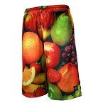 HXB × Futaba Fruits バスパン【Graphic Mesh Pants】Fruits バスケットボールパンツ バスパン バスケショーツ バスケ バスケットボール フルーツ