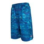 HXB Graphic Mesh Pants 【WATER CAMO】 バスケットボールパンツ バスパン バスケショーツ バスケ バスケットボール カモフラ 迷彩