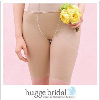 新娘內在中期大腿 (智慧 Lux) / 米色婚禮內心婚禮內衣提請內部衣服內衣新娘內衣禮服婚紗內