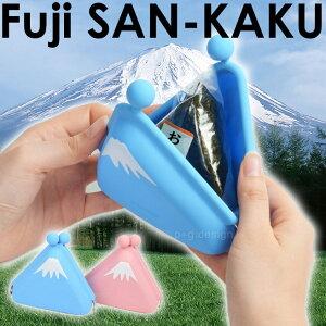 富士山 おにぎりポーチ がま口 ガマ口 雑貨 POCHI レディース メンズ ポチ p+gdesign 日本限定 ...