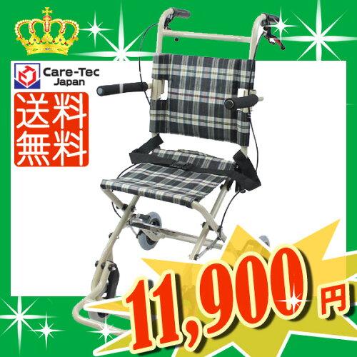 車椅子 軽量 折り畳み介助...
