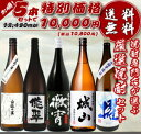 焼酎専門店自慢の飲み比べセット 送料無料 「1万円セット」 (徹宵・櫂...