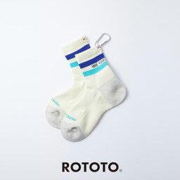 """ROTOTO(ロトト)ミドルソックス R1356 H.Y.O.H """"HIKE TREK MID"""" 靴下"""
