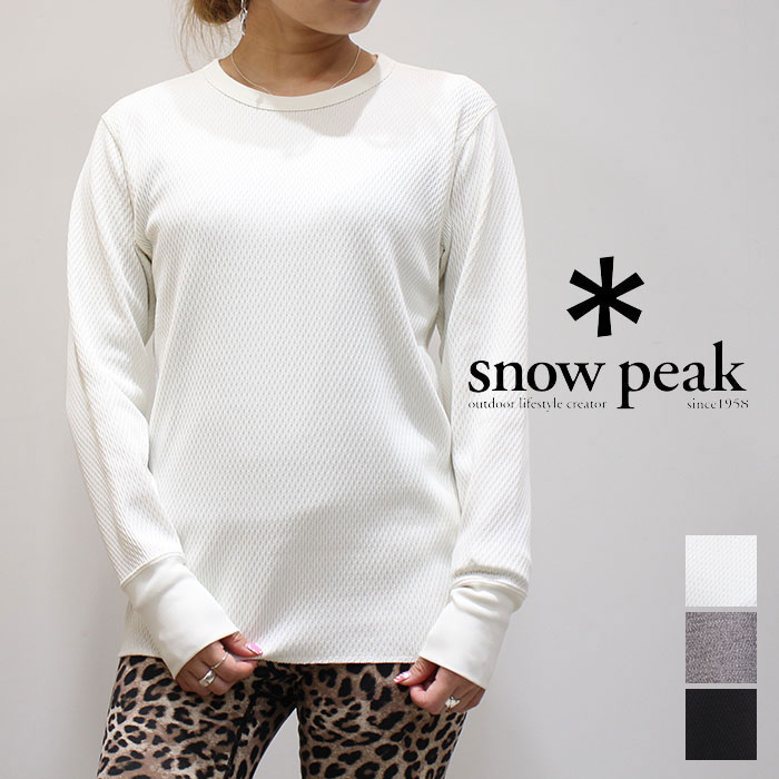 トップス, Tシャツ・カットソー SALE 30OFFsnow peak () SW-19SU0050 DRY THERMAL PULLOVER