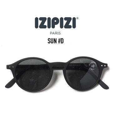 IZIPIZI (イジピジ) SUN #D サングラス ボストンタイプ BLACK