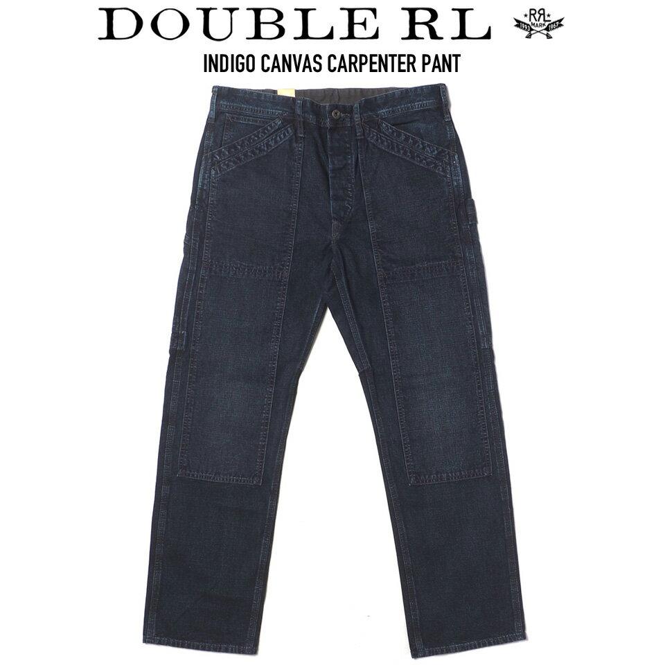 メンズファッション, ズボン・パンツ RRL () INDIGO CANVAS CARPENTER PANT WILLETS WASH