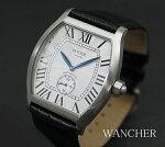 【即納】【腕時計】WANCHERLIMITED厳選手巻き機械式時計限定888【送料無料】【Wancher】