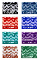 【WATERMAN/ウォーターマン】万年筆用インクカートリッジスタンダード8本入り