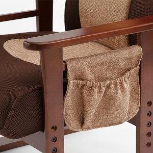 座椅子布地メッシュ生地のレバー式リクラニング高座椅子肩までしっかりハイバック背もたれ【送料無料】グレー&ブラックベージュ&ブラウン