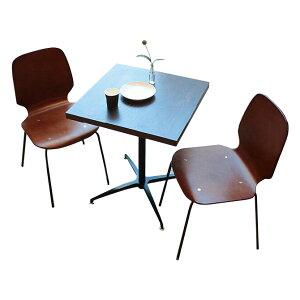 \ポイント10倍★6/15 0:00-6/16 23:59★/  カフェテーブル&チェアセット ouchi de cafe カフェテーブル072×カフェチェア2脚セット 高さ72cm テーブルセット 幅60cm テーブル ダイニングテーブル