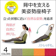 座椅子背中を支える美姿勢座椅子CBC-31342段階リクライニングチェアーコンパクト座いす座イスリクライニングチェアー姿勢猫背ソファー1人掛け一人掛けソファいすイス椅子チェア背筋が伸びる日本製[新商品][byおすすめ]