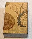 京都のおみやげ(京土産)和風雑貨・贈り物名刺入れ 金箔調 梅の絵柄「光琳梅」