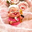 風水グッズ 縁結びの神様 月下老人(中) 風水 恋愛 結婚 風水アイテム 置物 飾り物 開運祈願 運命 赤い糸 風水 2021
