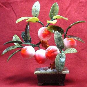 恋愛運を高める桃を象徴とした風水グッズです。風水五仙桃[風水・風水グッズ・風水アイテム/置...