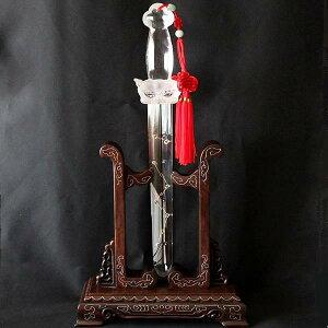 古代中国で国家鎮護・破邪滅敵を目的として造られた『北斗七星剣』を復刻☆天然水晶『北斗七星...