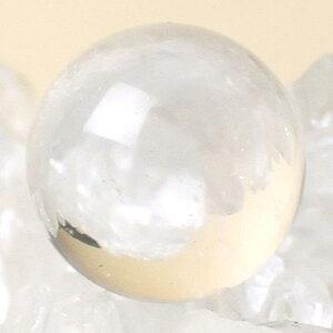 浄化や潜在能力を引き出してくれる水晶玉(水晶球)♪天然石水晶玉20mm【ポイント10倍】[風水・風...