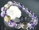 高貴な紫色と生命力を表す!アメジスト&シトリンの性質が50%ずつの天然石アメトリンのパワー...