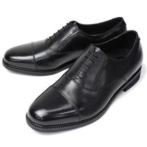 【防水で蒸れにくく滑りにくい機能性本革ビジネスシューズ】ビジネスシューズ通気性防水性本革ビジネスシューズアンチバ靴ANTIBA紐靴靴メンズ紳士男性/AN4016[ビジネスシューズ紳士靴ブラック黒防滑防湿革本革]【送料無料】