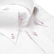デザイン ワイシャツ ヒューズ ビジネス クレリック ストライプ カッターシャツ