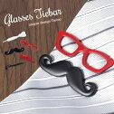 ユニークにおしゃれを楽しむ眼鏡メガネひげタイピンタイバーネクタイピンタイクリップメンズレディース人気おしゃれ面白いプレゼントギフト結婚式パーティマネークリップとしても使える