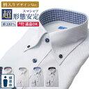 ワイシャツ 長袖 標準体 形態安定 ノーアイロン メンズ 【...