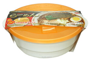 お鍋を使わずレンジで簡単!レンジで簡単ラーメン