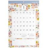 カレンダー2021 壁掛け A3花柄